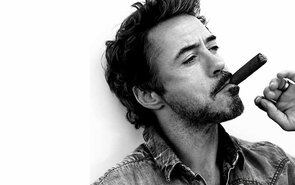 Robert Downey JR doesn't drink alcohol anymore
