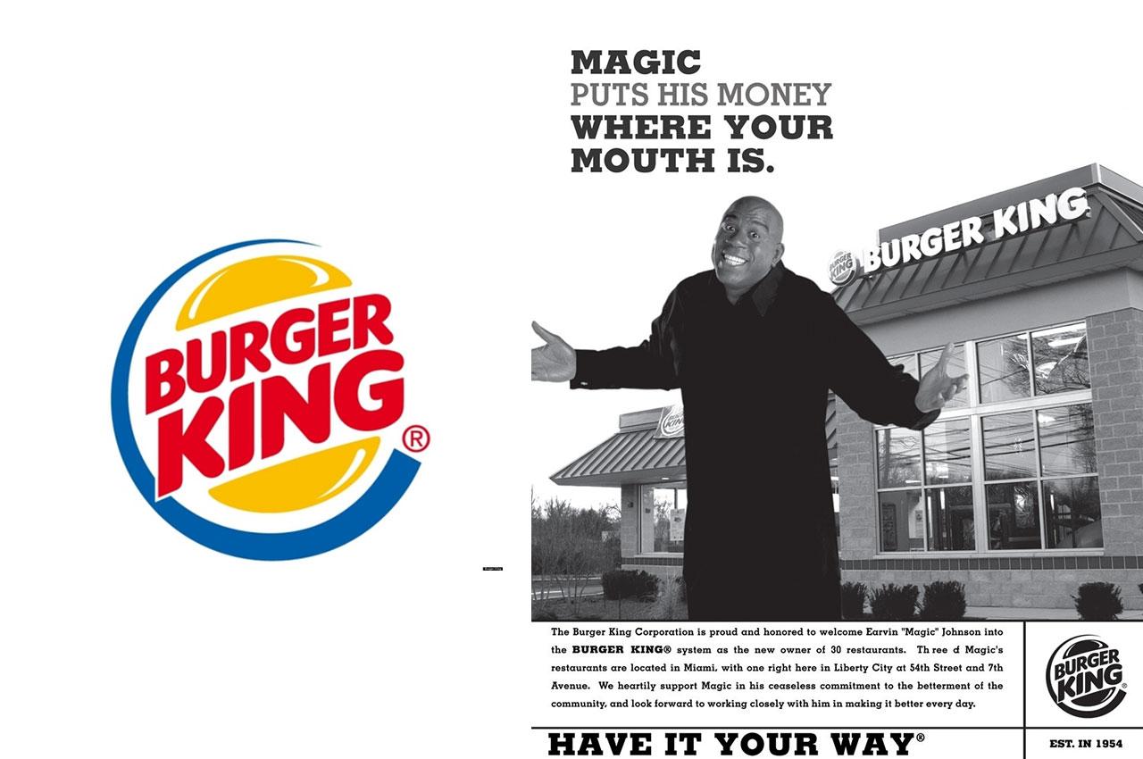 magic johnson burger king
