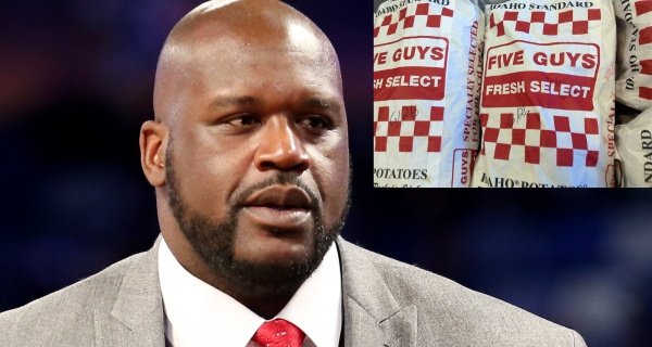 shaquille O neal owns five guys