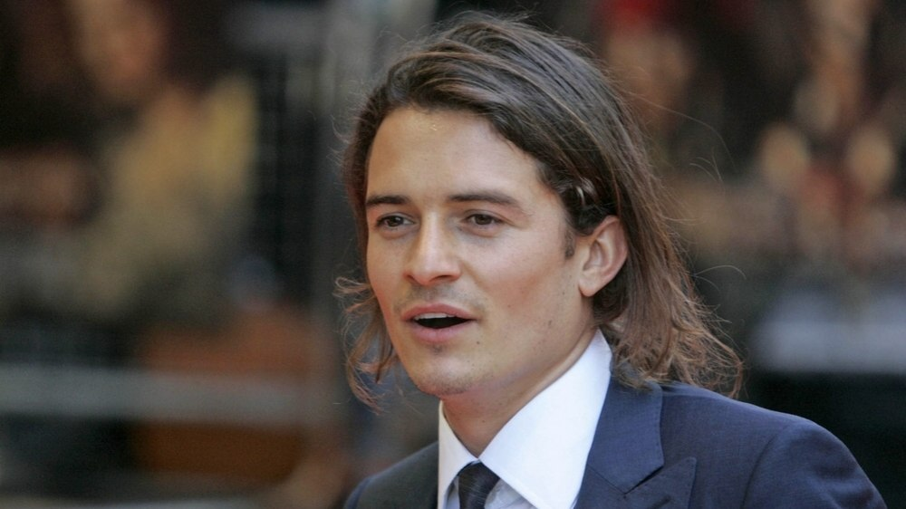 Orlando Bloom long hair