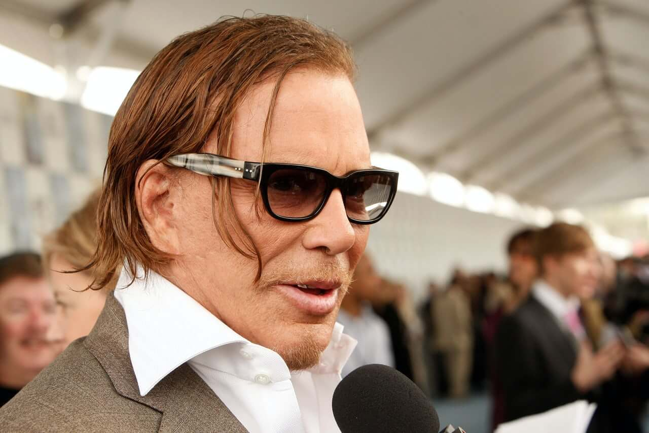 mikey rourke face surgery gone wrong
