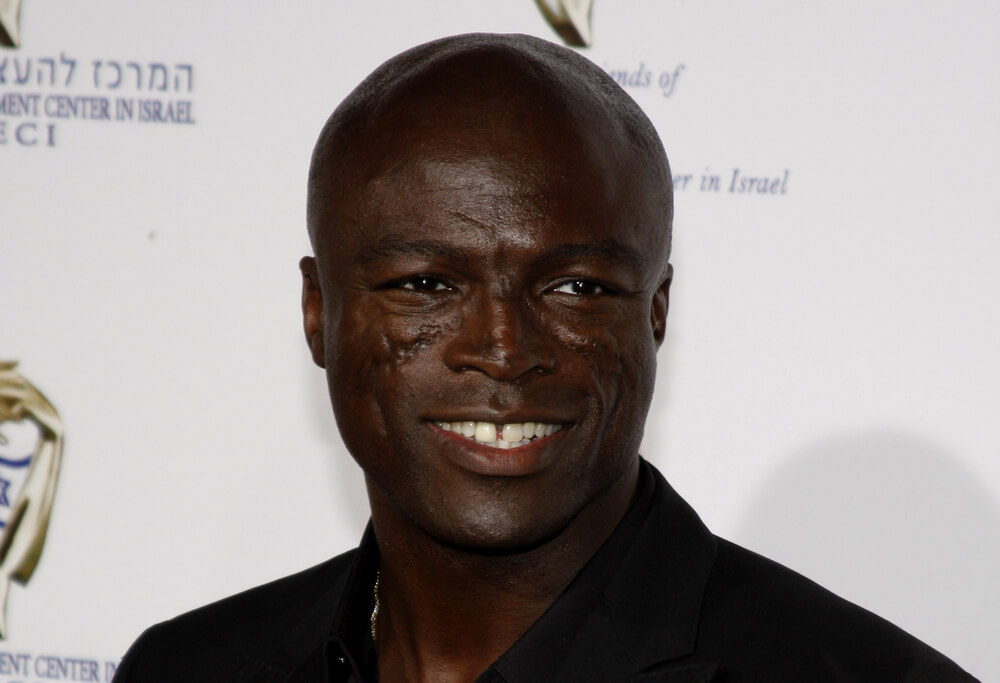 scars on seal's face