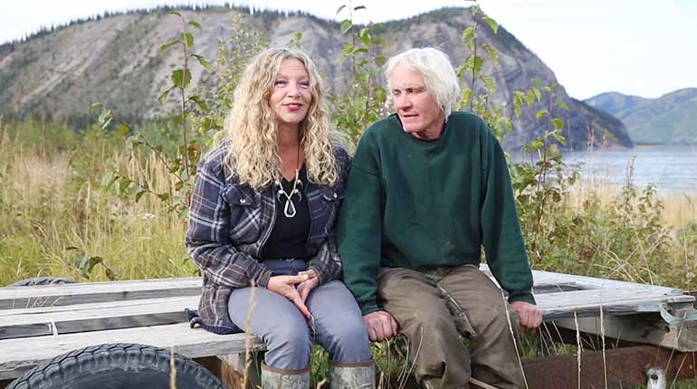 Andy and Kate from Life Below Zero