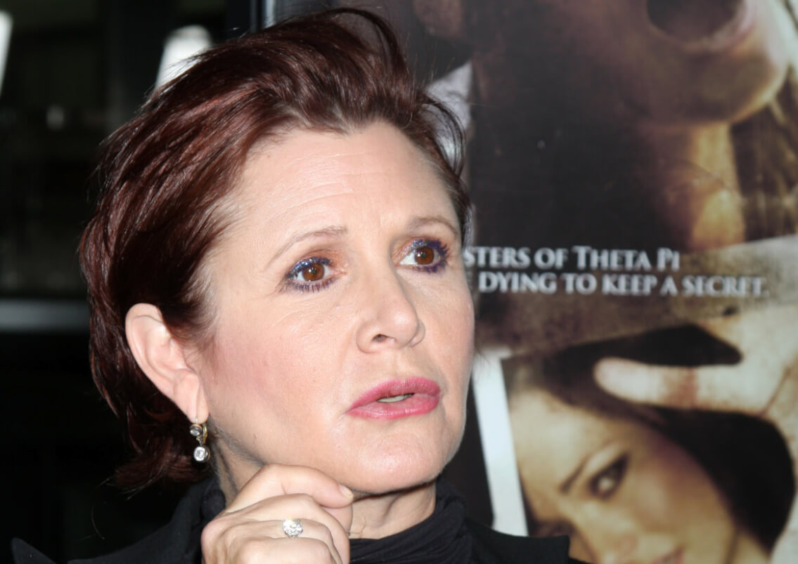 carrie fisher's voice
