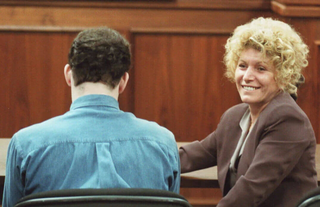 leslie Abramson during the Menendez Brothers' Trial