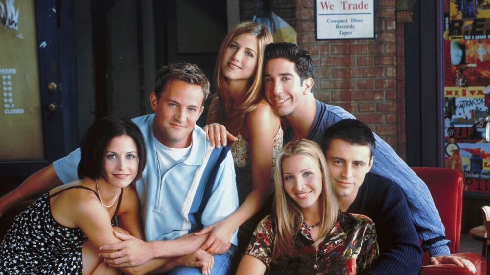 friends cast members got along