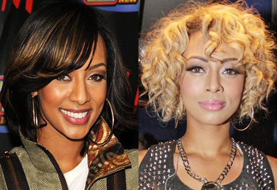 keri hilson skin whitening before and after