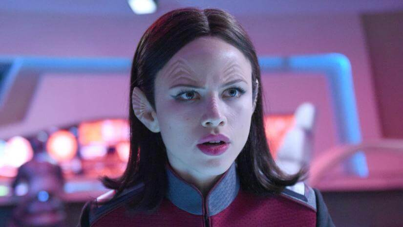 why did halston sage leave the orville