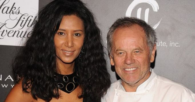 wolfgang puck and wife gelila