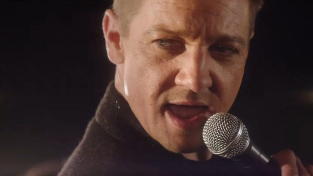 Jeremy Renner singing