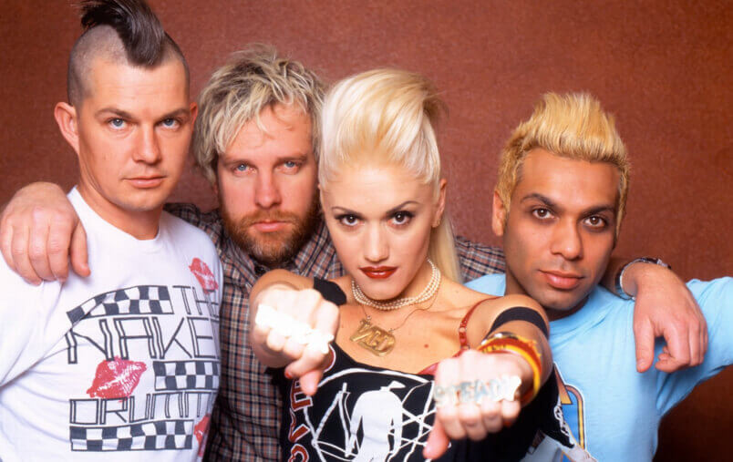 Gwen Stefani and her former band