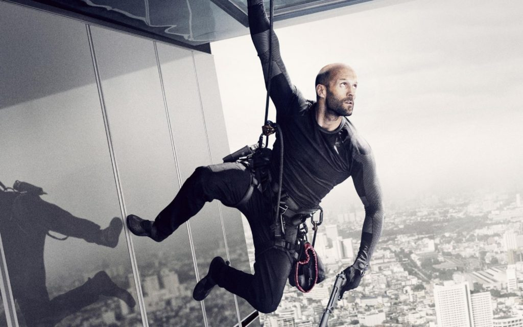 Jason Statham does a lot of his own stunts