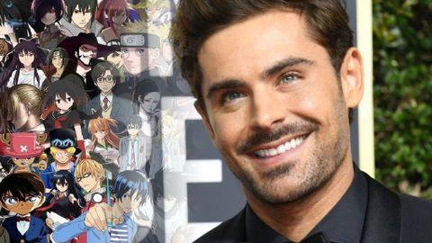 zac efron is a fan of anime