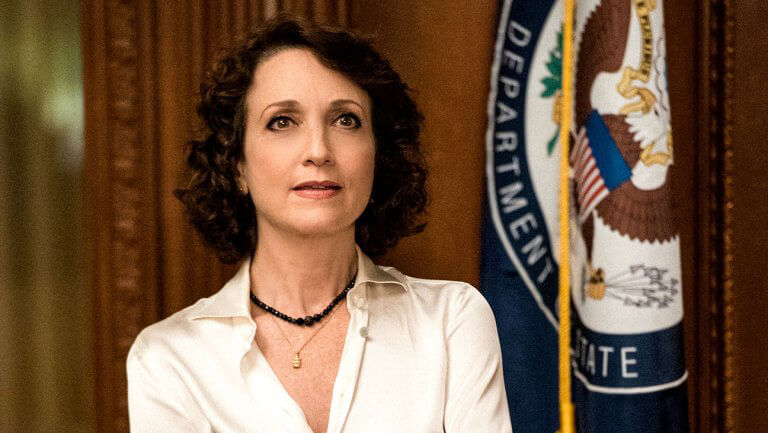 "Bebe Neuwirth as Nadine Tolliver in ""Madam Secretary"""