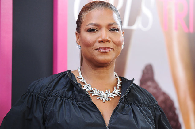 Queen Latifah round face