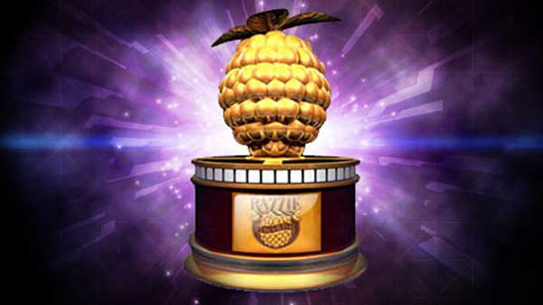 the razzie trophy