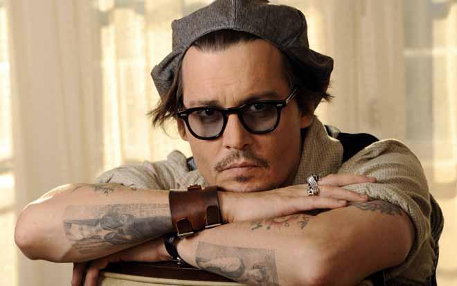 johnnny depp tattoos