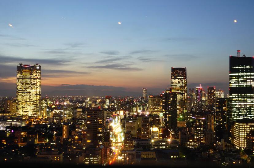 tokio at night