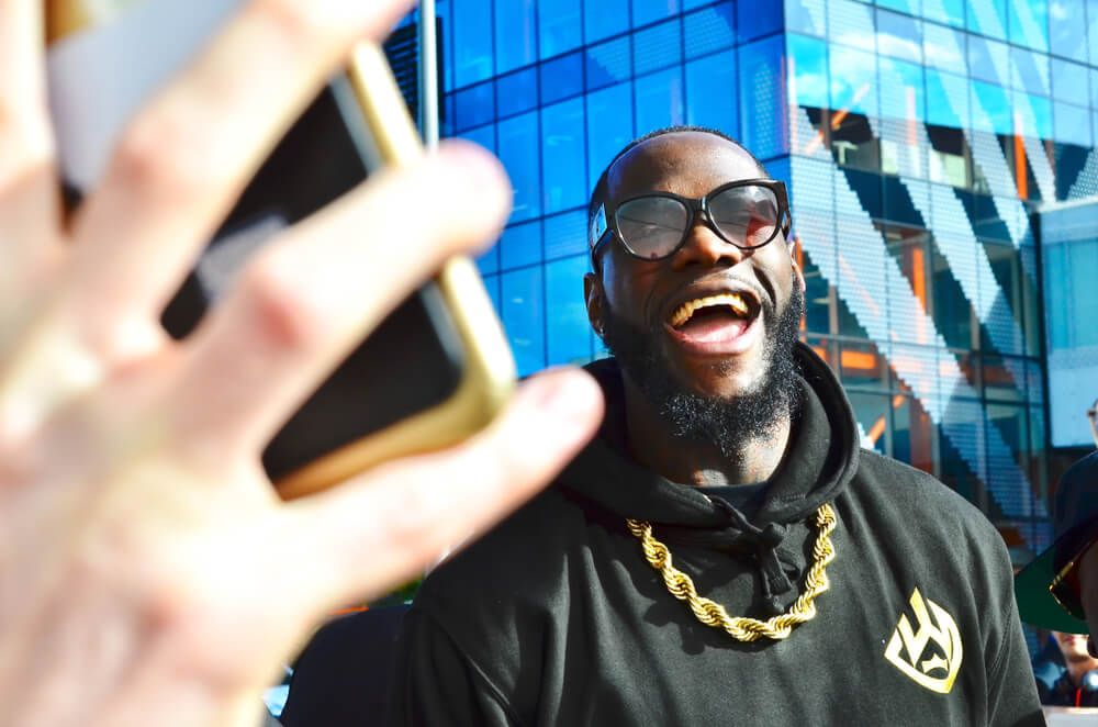 how much money does deontay wilder have?