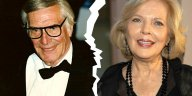 why did martin landau and barbara bain split