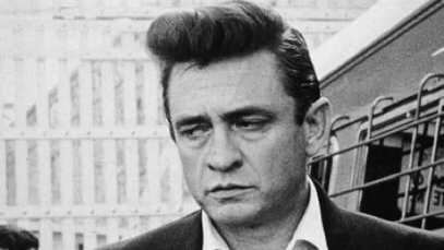 Johnny Cash was always wearing black