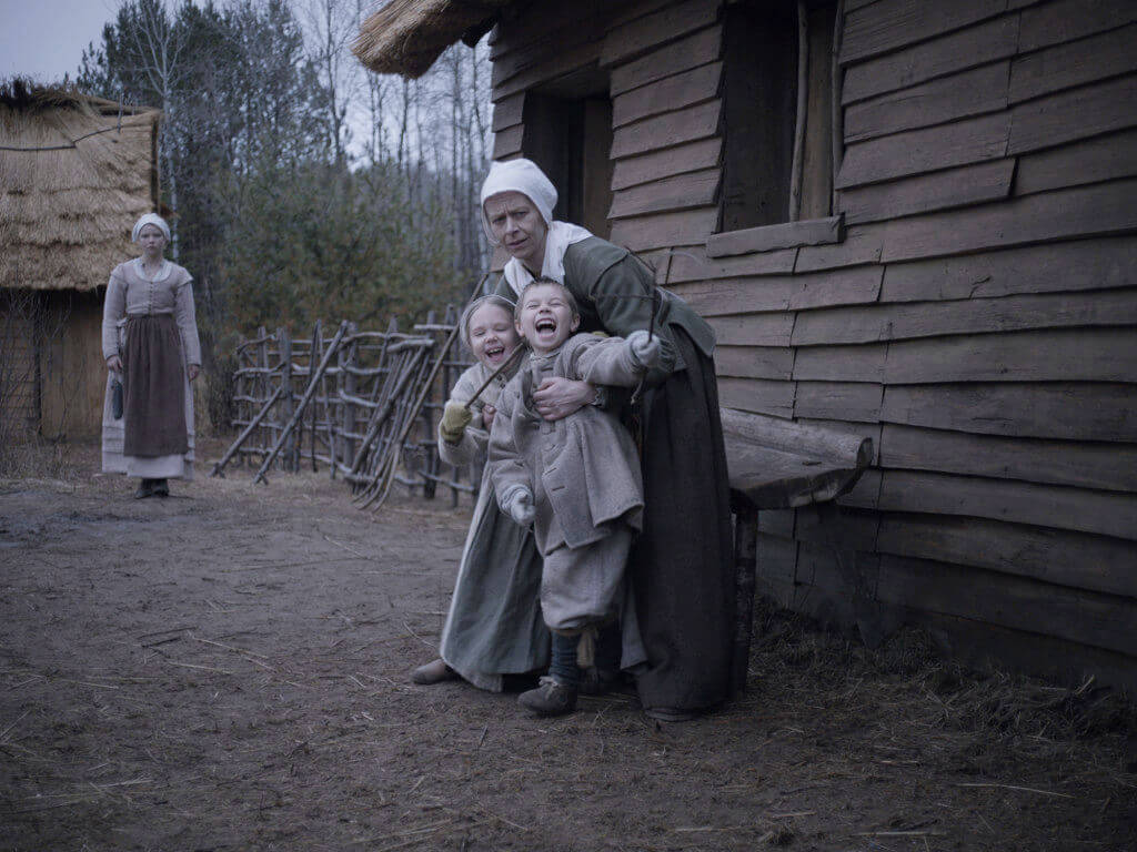 "Mercy and Jonas in ""The Witch"""