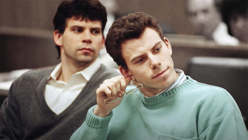 menendez brothers during trial