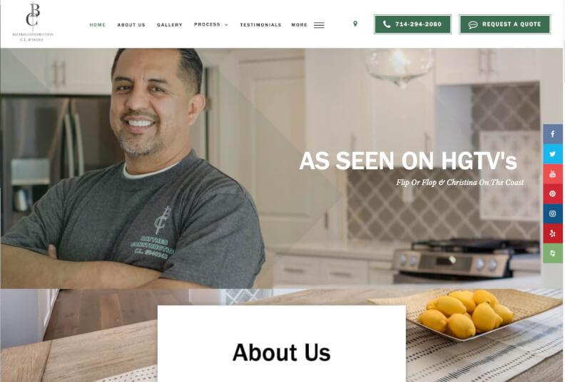 battres construction website