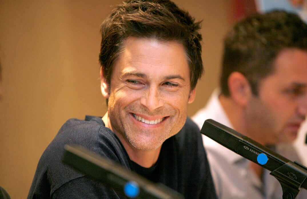 """Rob Lowe in """"the West Wing"""""""